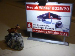 Plakat Gamskogel-Express